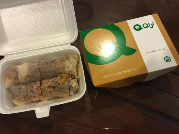 qiji's nasi lemak+popiah