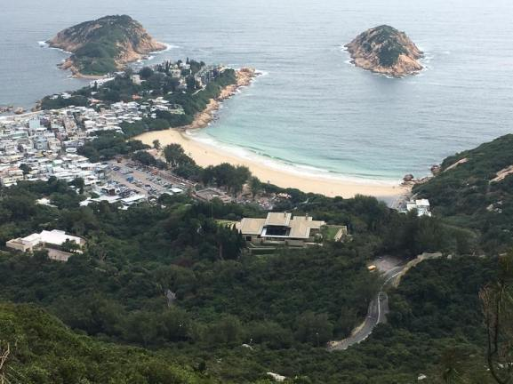 seaward looking at shek-O