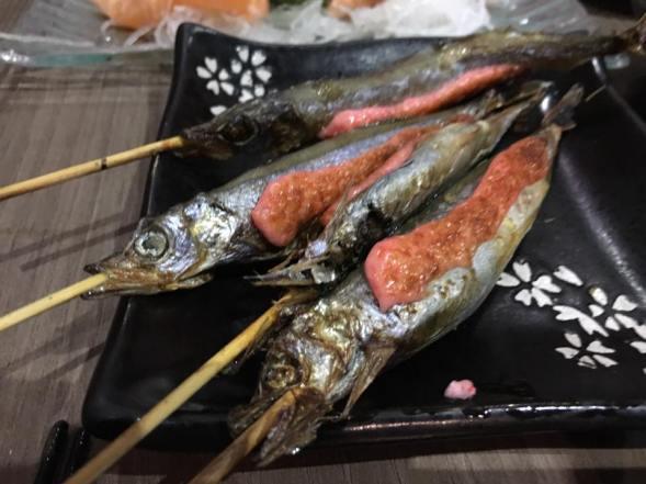 sishamo (pregnant fish)