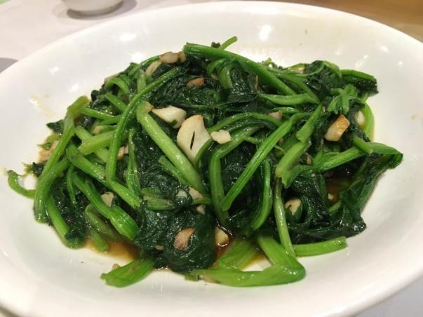 stirfried spinach HK$58