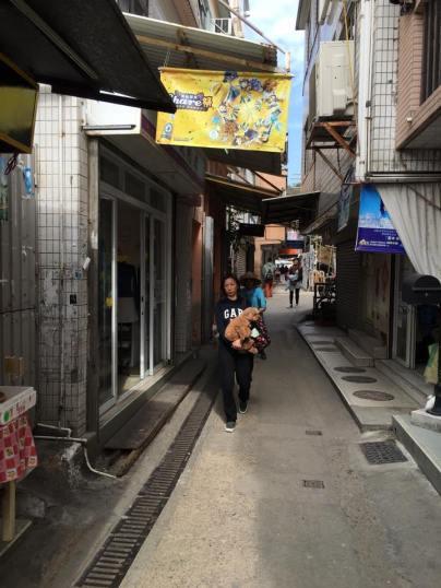 streets at yung shue wan榕树湾