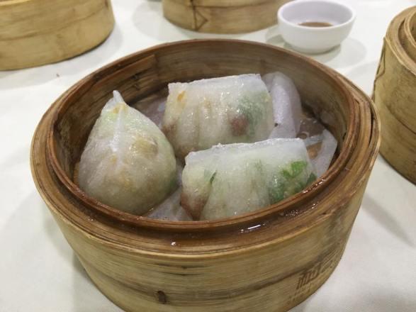 teochew dumplings 潮州粉果