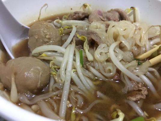 S$8 thai beef noodle soup