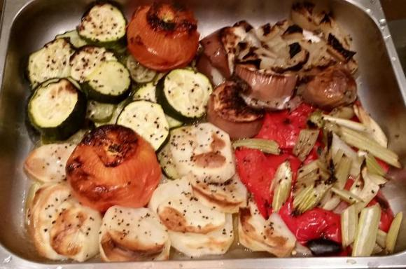 #5 roasted vegetables ratatouille