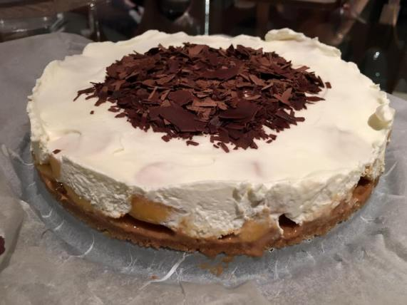 #9 banoffee (banana toffee) pie
