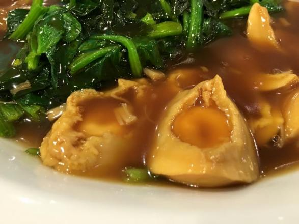 abalone spinach duck web