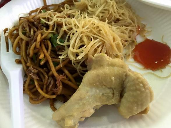 beehon mee with chicken