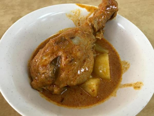 curry chicken drumstick