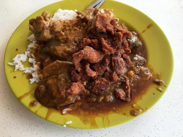 S$4.30 curry rice