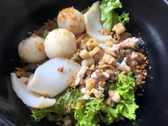 fishball noodles dry