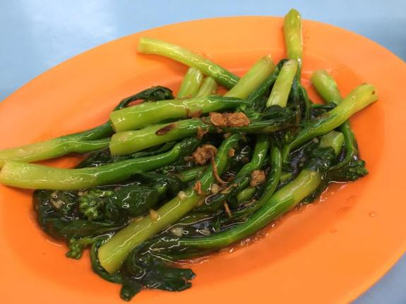 S$10 fried kai lan