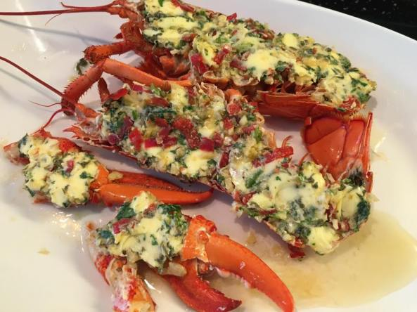 gordon ramsay grilled lobster with chilli garlic butter