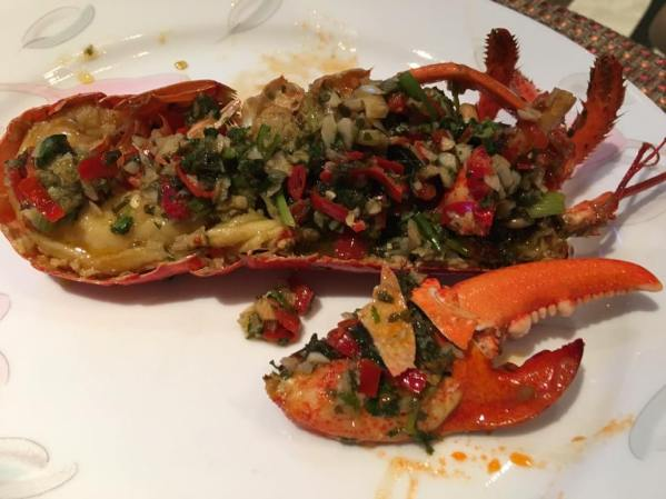 gordon ramsay grilled lobster