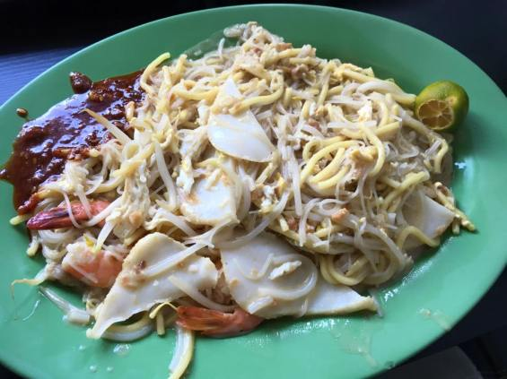 fried hokkien noodles