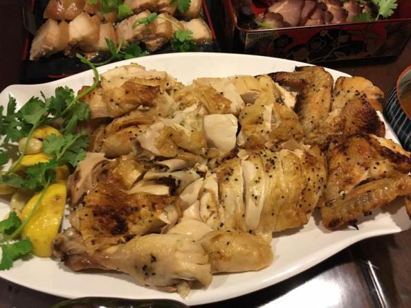 lemon chicken (son's recipe)