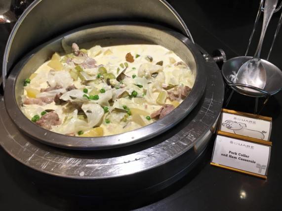 pork collar & ham casserole