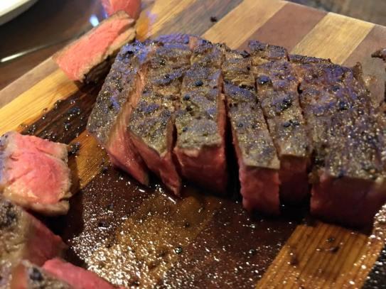 angus beef ribeye medium rare