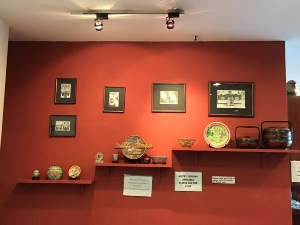 wall display - dulukala peranakan restaurant