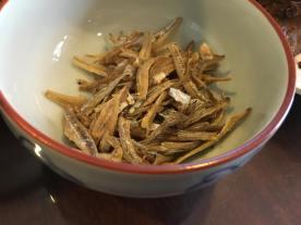 fried ikan bilis