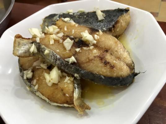 ikan tenggiri (mackerel) thai sauce