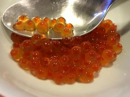 ikura - salmon roe