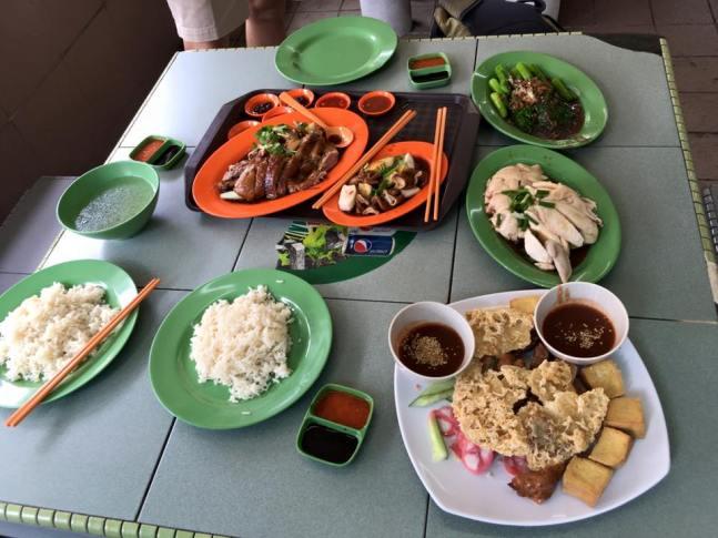 late lunch @ kim san leng