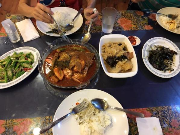 we had 5 peranakan dishes