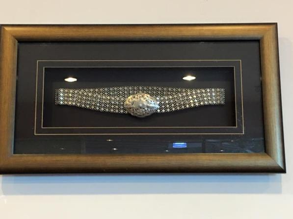 peranakan silver belts 1930s