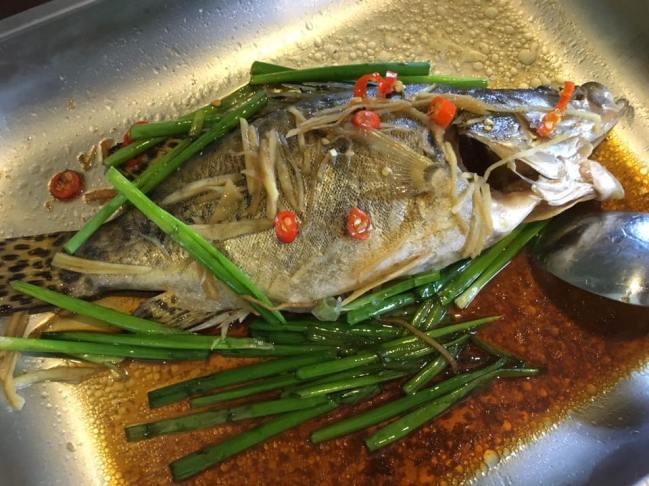 港蒸 HK steamed 桂鱼