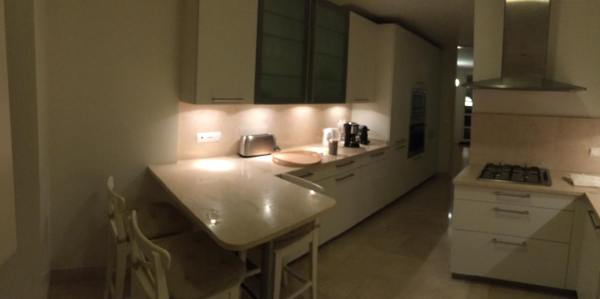 kitchen - Airbnb 3 bedroom apartment at Rua da Misericórdia 98, Lisboa