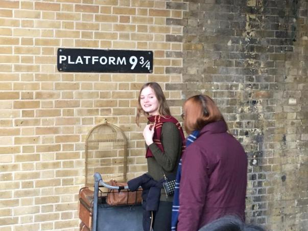 9 3/4 harry potter's platform