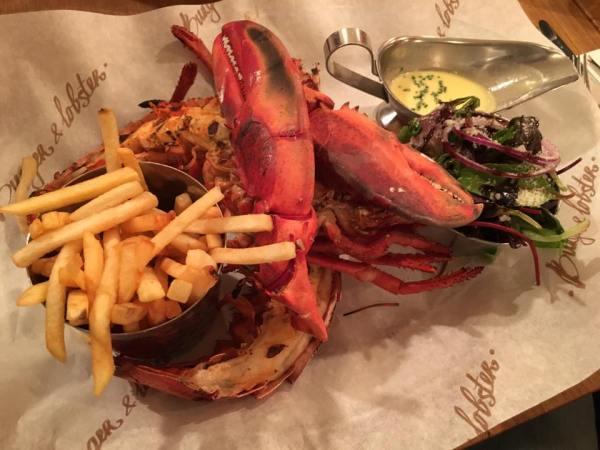 £20 lobster