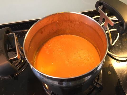 #2 cream of carrot soup