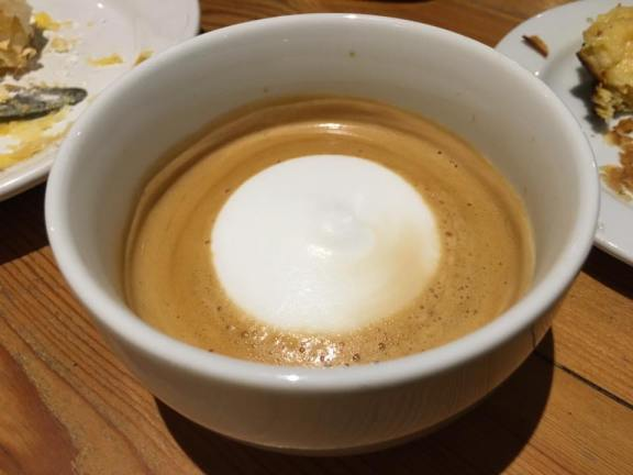 expresso with cream