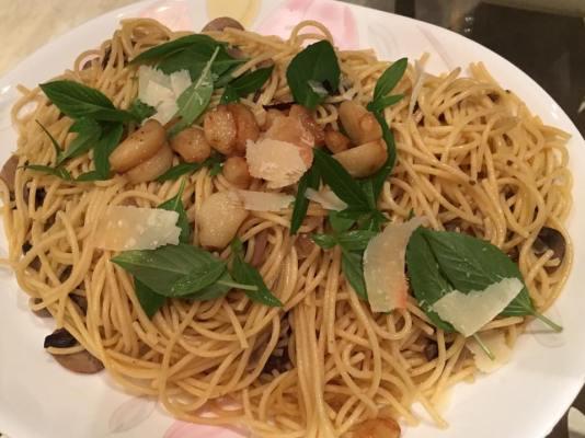 #4 funghi pasta