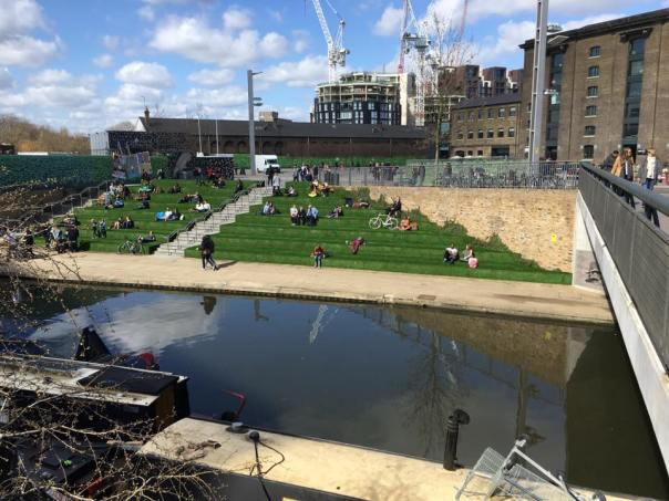 granary square @ king's cross