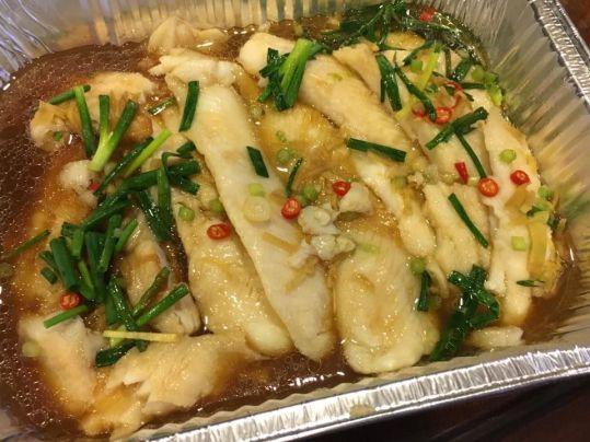 HK steamed sutchi fillet