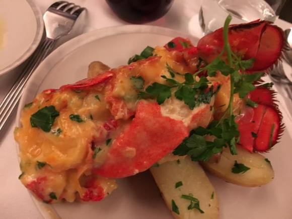 lobster thermidor - return flight 4apr2016