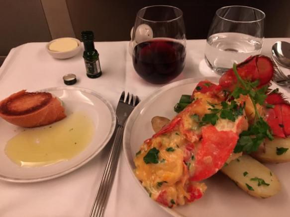 lobster thermidor - return flight 4apr2016