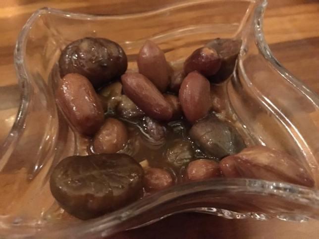 peanut & chestnuts starters - S$2.50