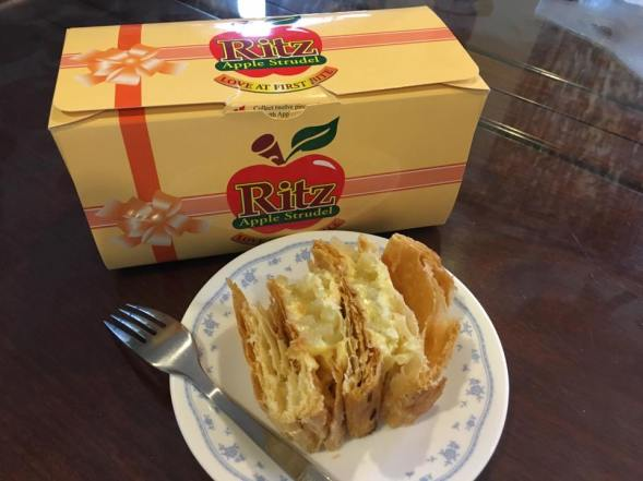 ritz apple strudel