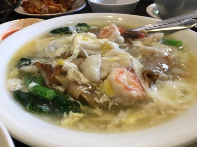 seafood hor fun 杂锦河粉