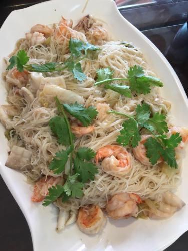seafood white beehoon白米粉