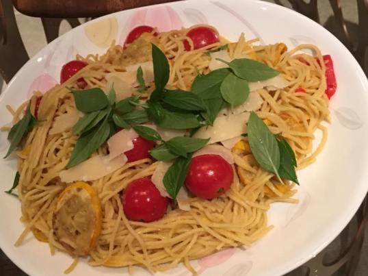 #3 spaghetti alla nerano - zucchini pasta