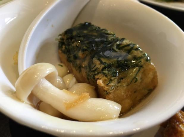 spinach tofu 三层楼