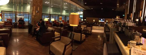 SQ 1st class lounge