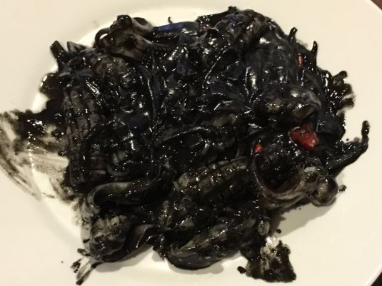 squid ink sotong