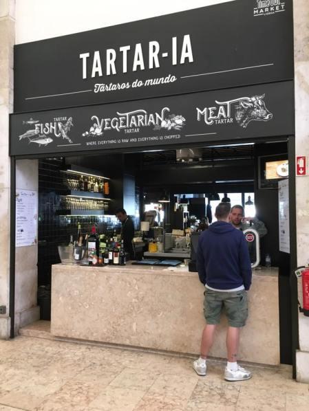 tartar-ia @ mercado timeout market