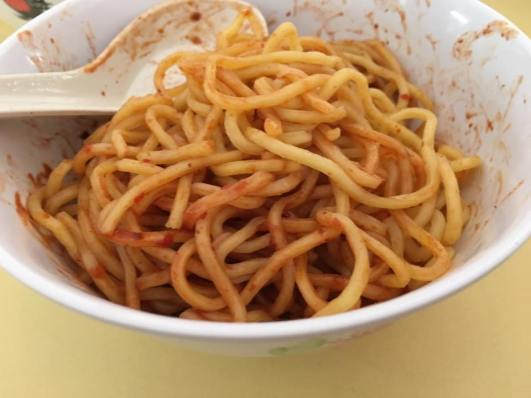 yong tau fu noodles