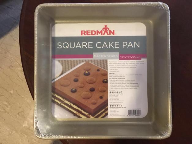 "10"" x 10"" cake tin from phoon huat"